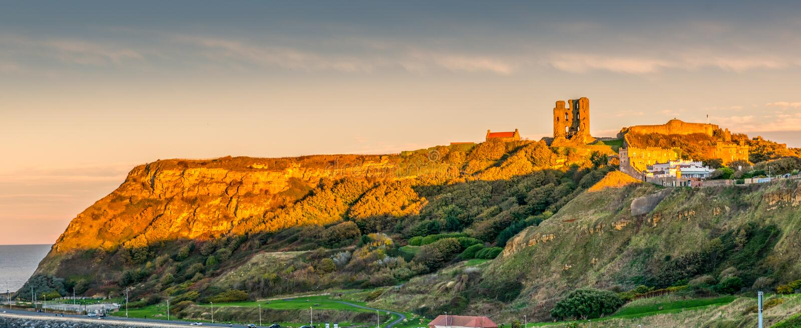 Scarborough Castle royalty free stock photo