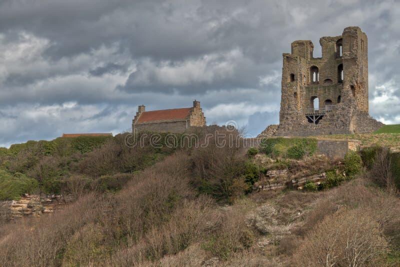 Scarborough Castle royalty free stock photo