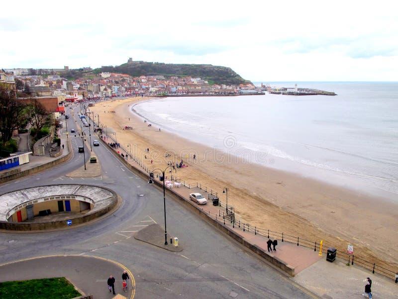 Download Scarborough, North Yorkshire Fotografia Editorial - Obraz złożonej z piasek, kasztel: 53790812