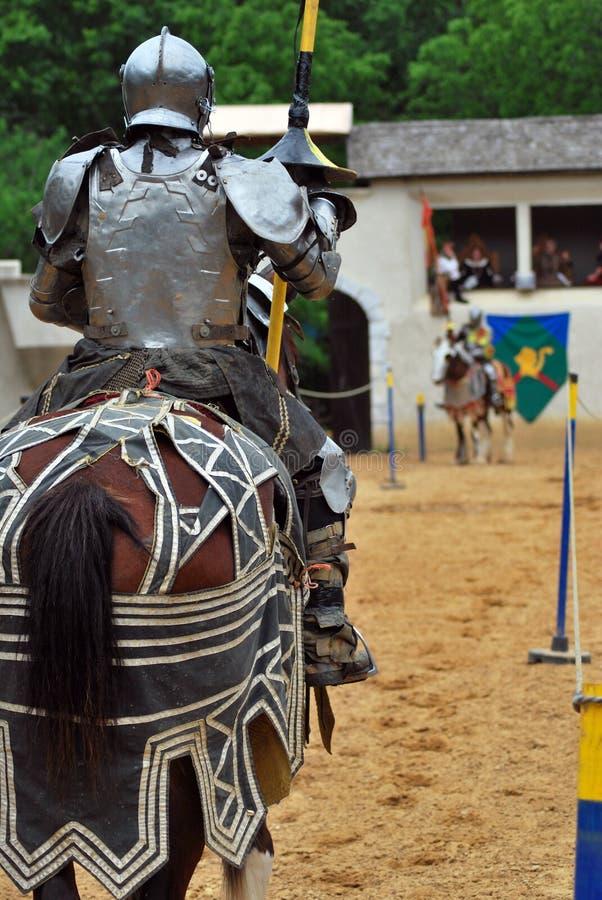 Scarborough Rennaissance Faire: Joust foto de stock royalty free