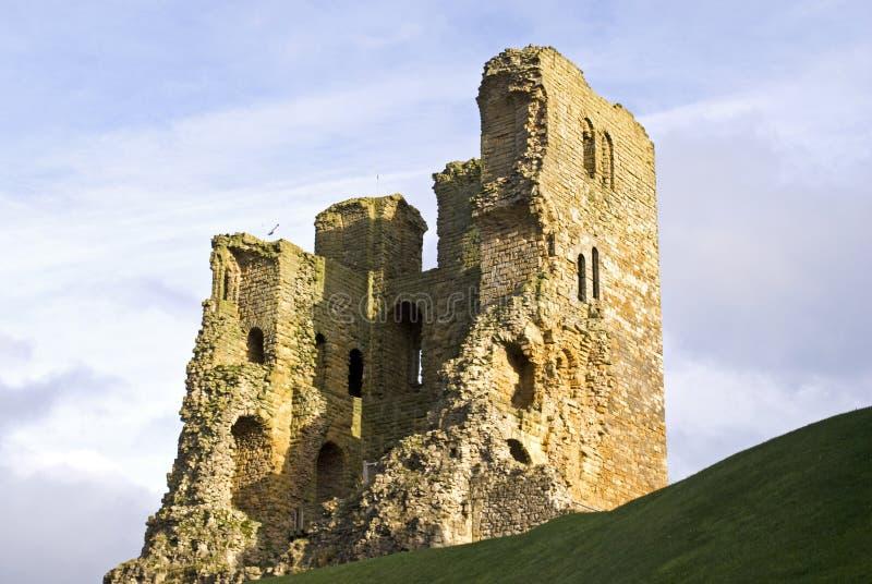 Scarborough-Schloss lizenzfreies stockbild