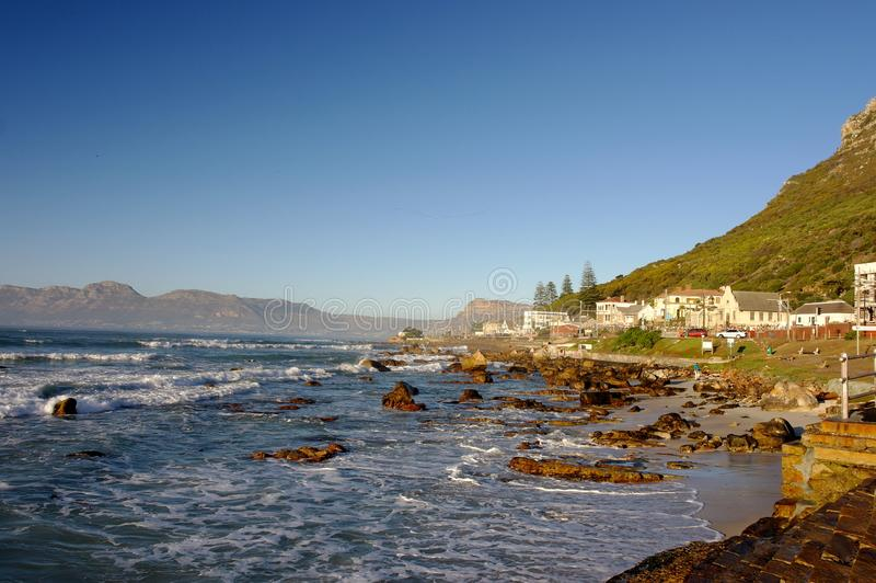 Scarborough South Africa. Seaside Landscape royalty free stock images