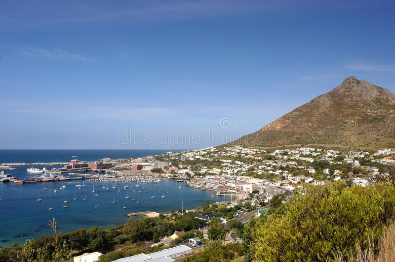 Scarborough South Africa. Seaside Landscape royalty free stock photos