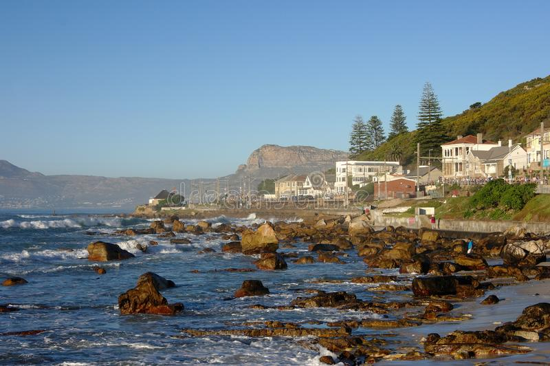 Scarborough South Africa. Seaside Landscape stock photos