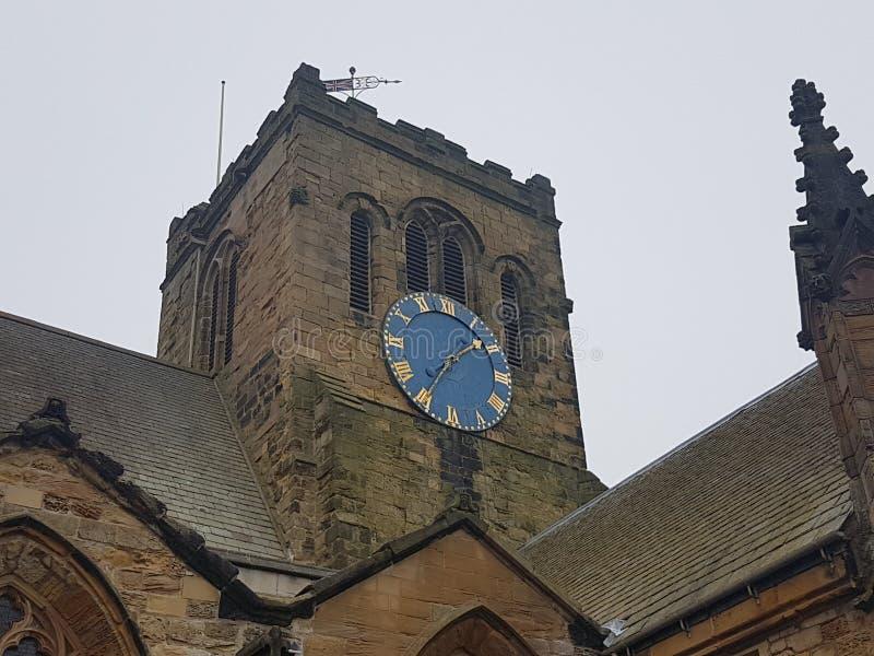 Scarboroughst Mary ` s Kerkklok royalty-vrije stock fotografie