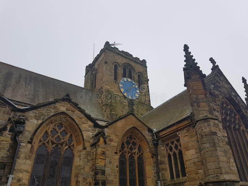Scarboroughst Mary ` s Kerkklok royalty-vrije stock foto's