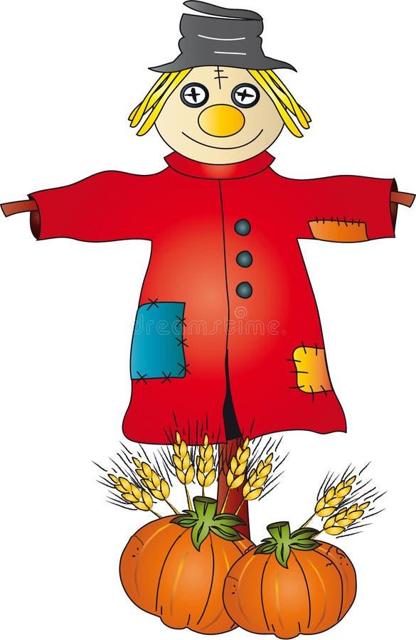 Download Scarecrow stock illustration. Illustration of glee, laugh - 10433700