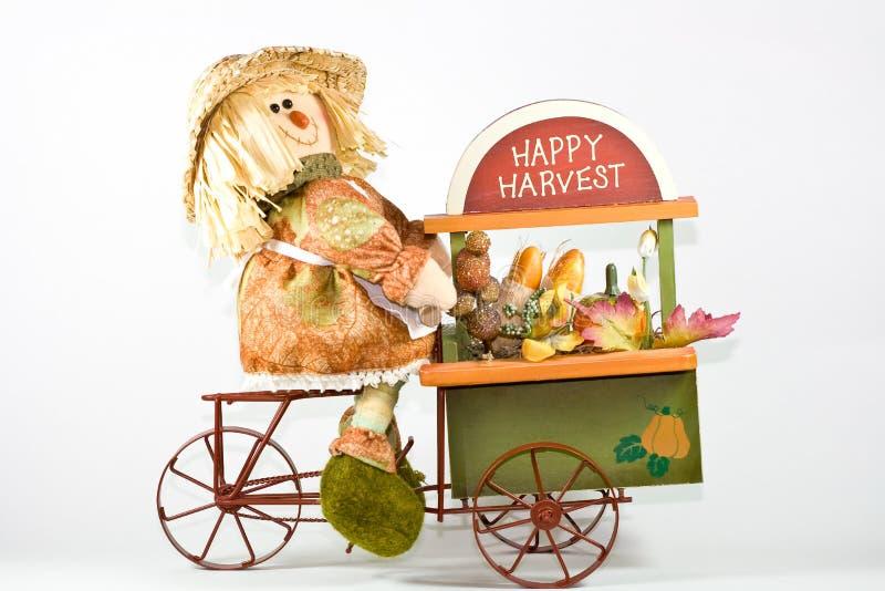 Scarecrow. royalty free stock photo