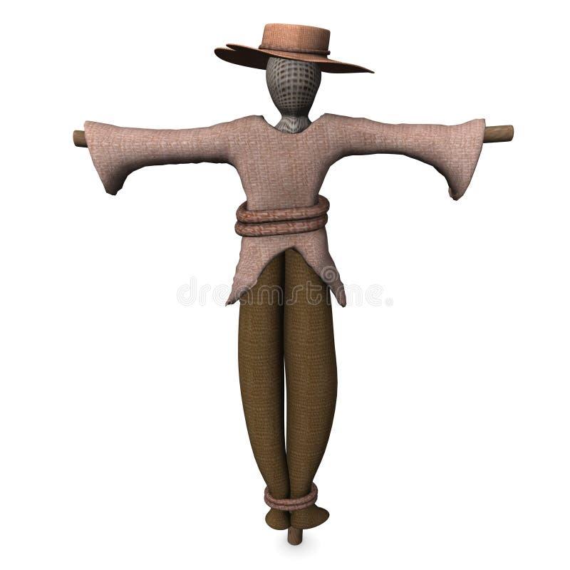 Download Scarecrow stock illustration. Illustration of cornfield - 12457466
