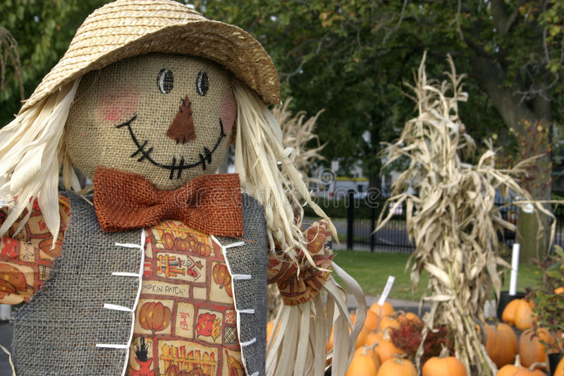 Download Scarecrow Stock Image - Image: 1410701