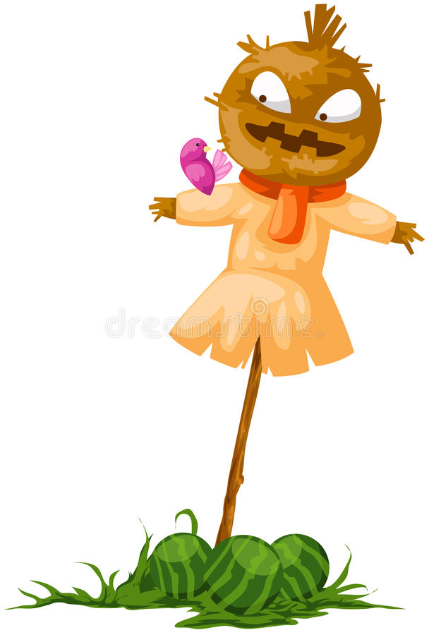 Download Scarecrow stock vector. Image of graphic, drawing, coat - 18058701