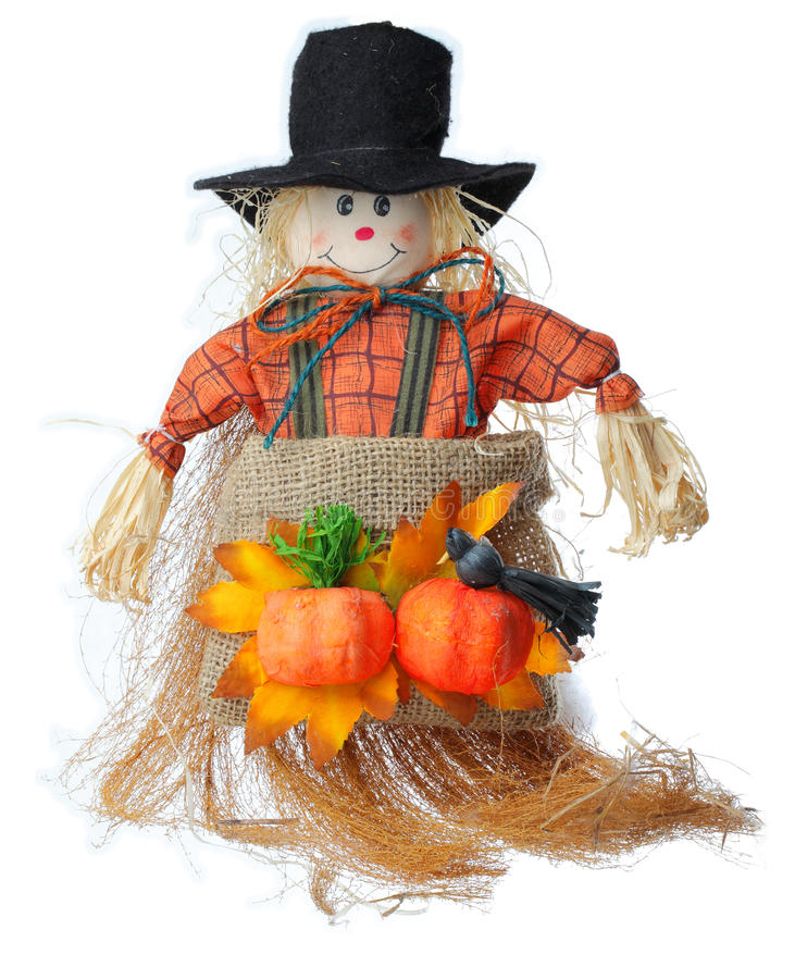 Download Scarecrow stock image. Image of pumpkin, figurine, october - 21788075