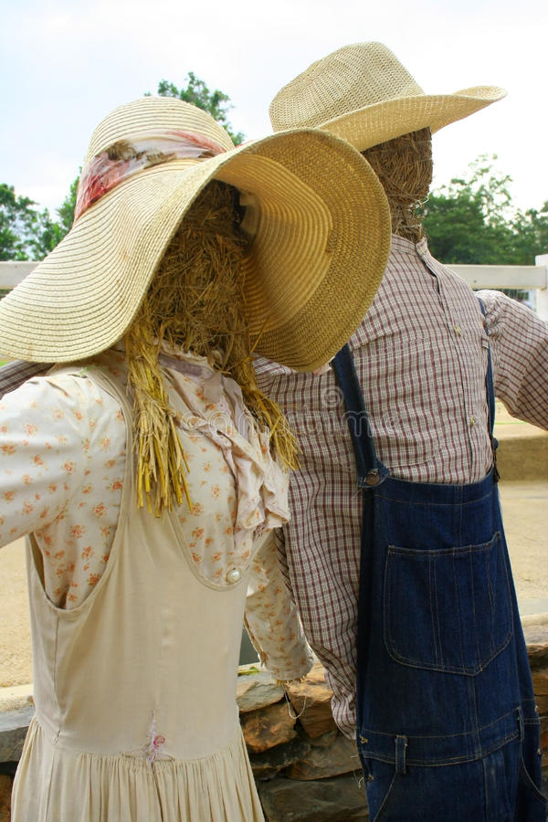 Download Scarecrow stock image. Image of love, garden, holiday - 28953869