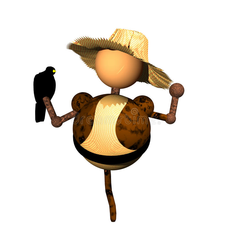 Scarecrow clipart stock photos