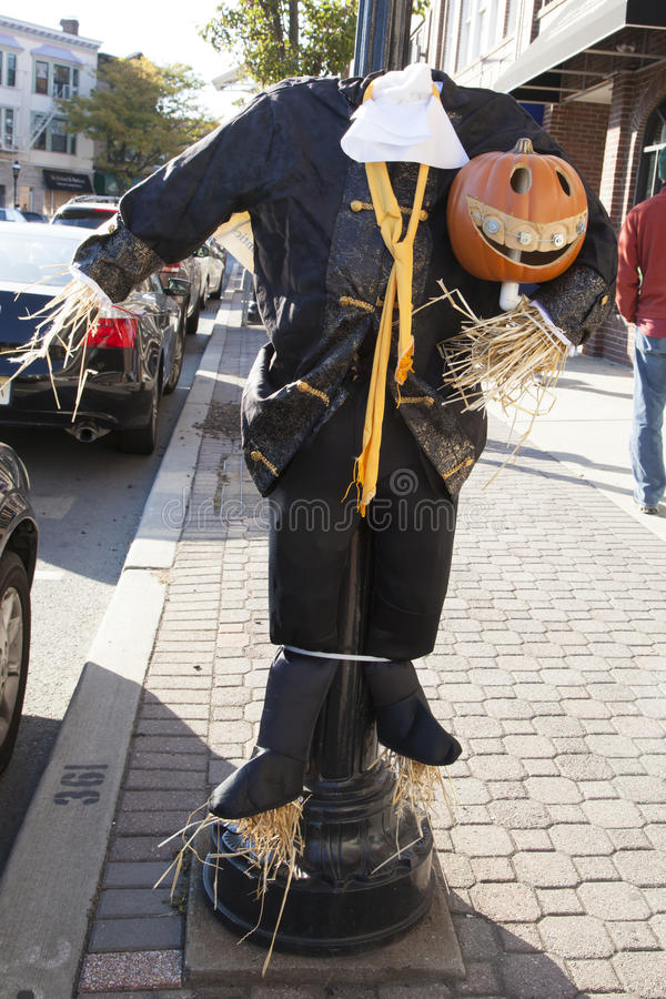 Scarecrow Contest royalty free stock photography