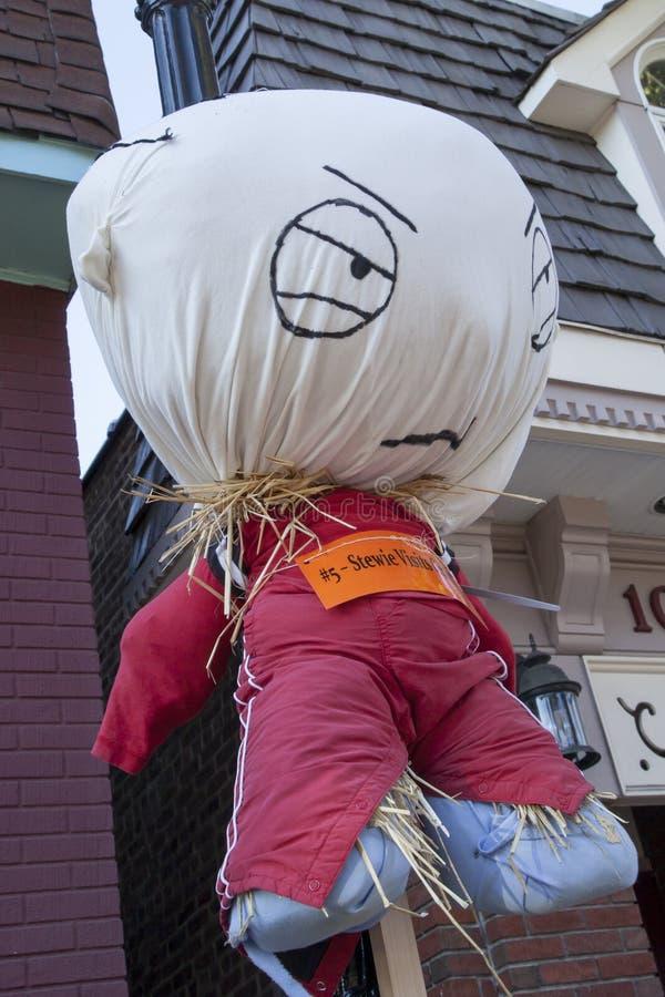 Scarecrow Contest stock photo