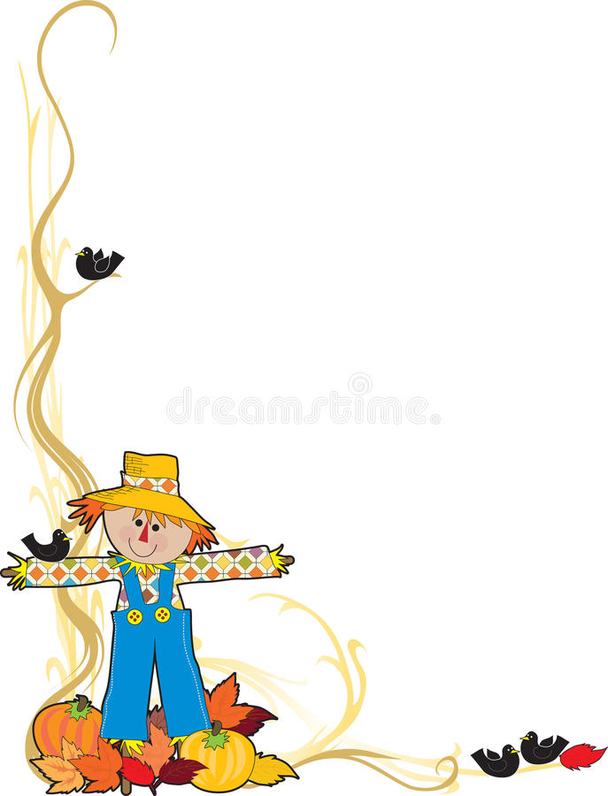 Free Scarecrow Corner Royalty Free Stock Photo - 16269245