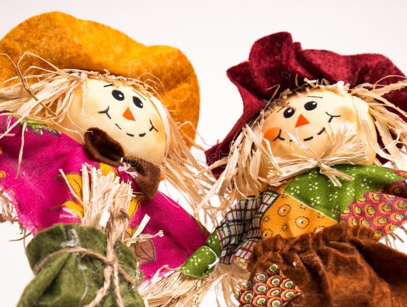 Scarecrow Couple royalty free stock photo