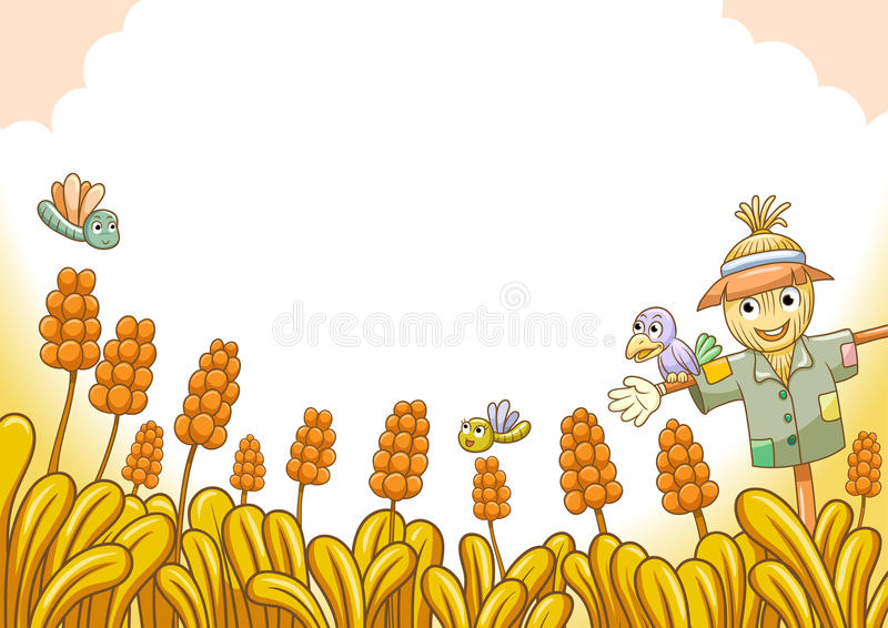 Download Scarecrow stock vector. Image of nature, bird, scare - 30789609