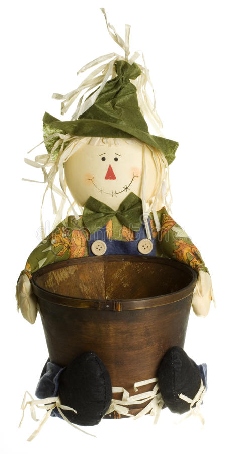 Download Scarecrow Planter Decoration Stock Photo - Image: 16185010