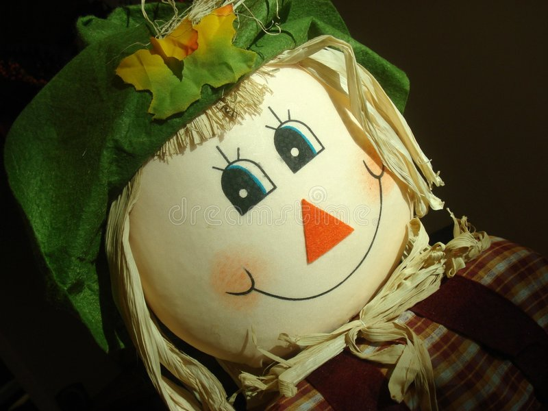 Download Scarecrow Portrait stock photo. Image of face, happy, fall - 6603472