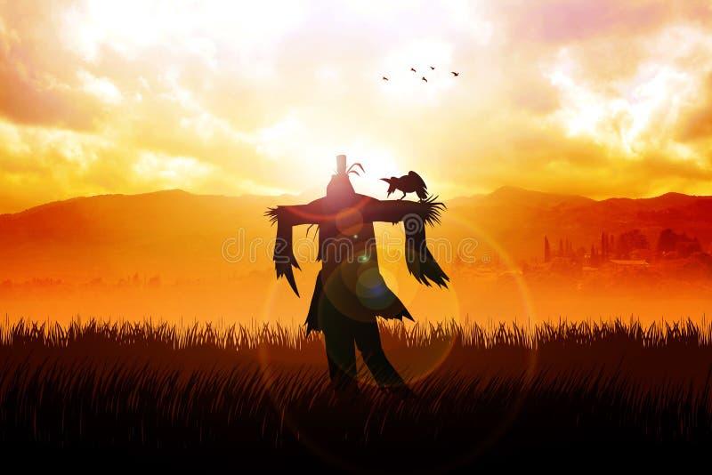 Scarecrow stock illustration