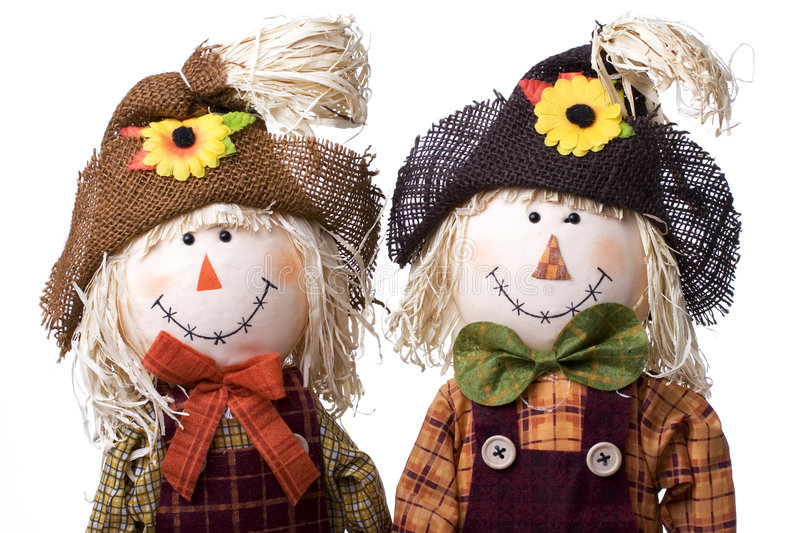 Download Scarecrows stock image. Image of farm, fall, decoration - 1317389