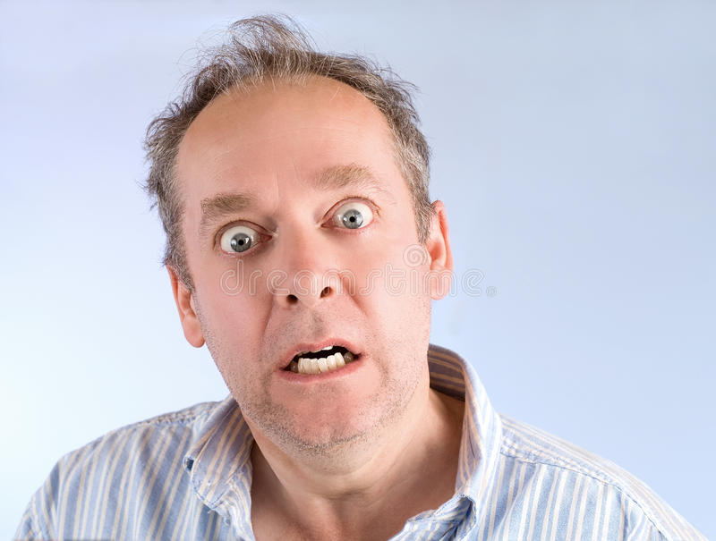 Download Scared stock photo. Image of male, crazy, despair, frightened - 9956928
