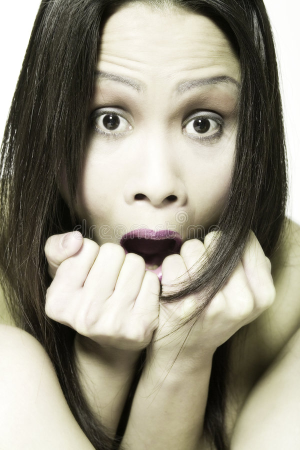 Free Scared Model Stock Photography - 2336622