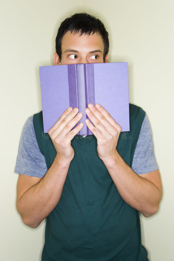 Download Scared Student stock image. Image of stare, book, expression - 5621577