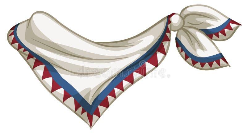 scarf ilustração do vetor