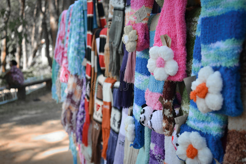 scarf arkivbilder