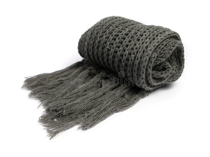 A Scarf Made Of Woolen Stock Images