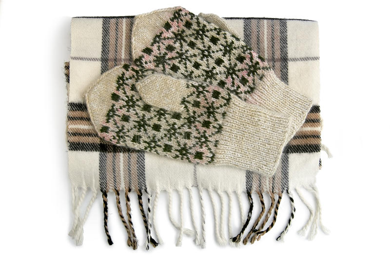 Download Scarf And Mittens Royalty Free Stock Image - Image: 16698136