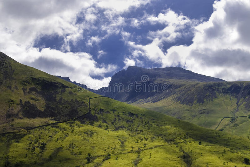 Scarfell Pike stock photography