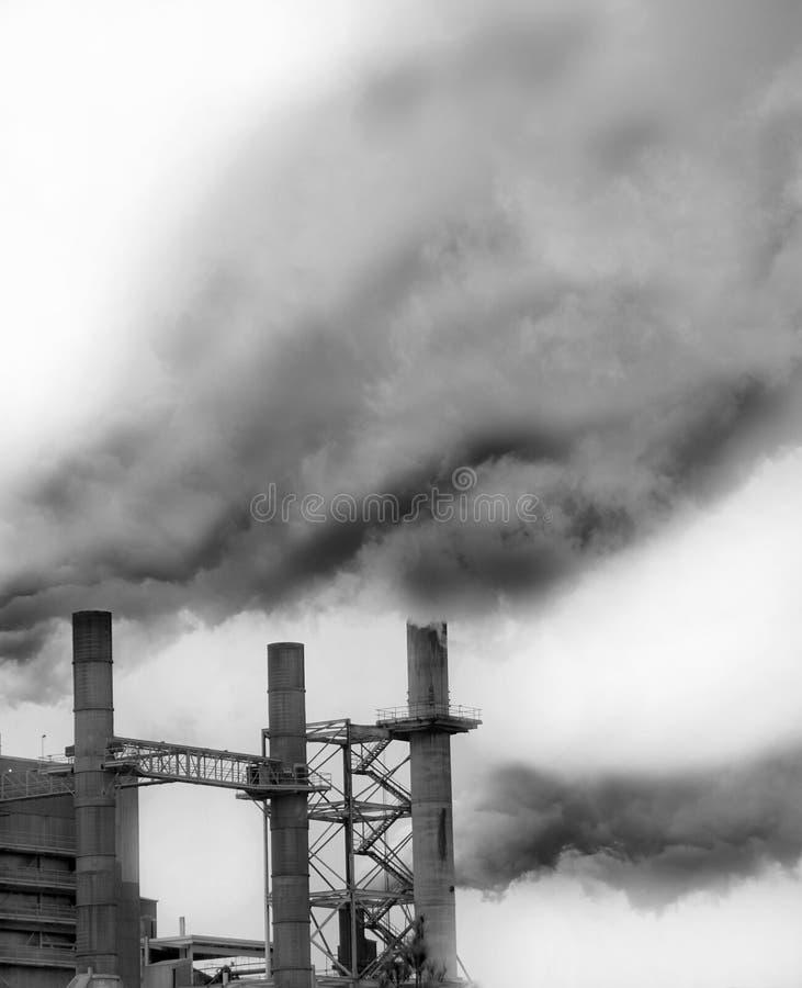 Scarico industriale fotografia stock libera da diritti