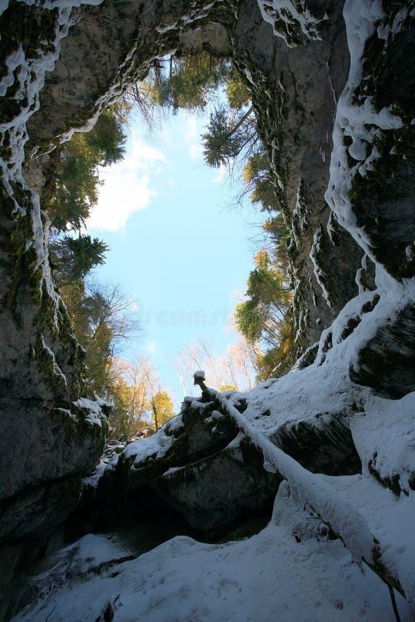 Scarisoara Cave royalty free stock photo