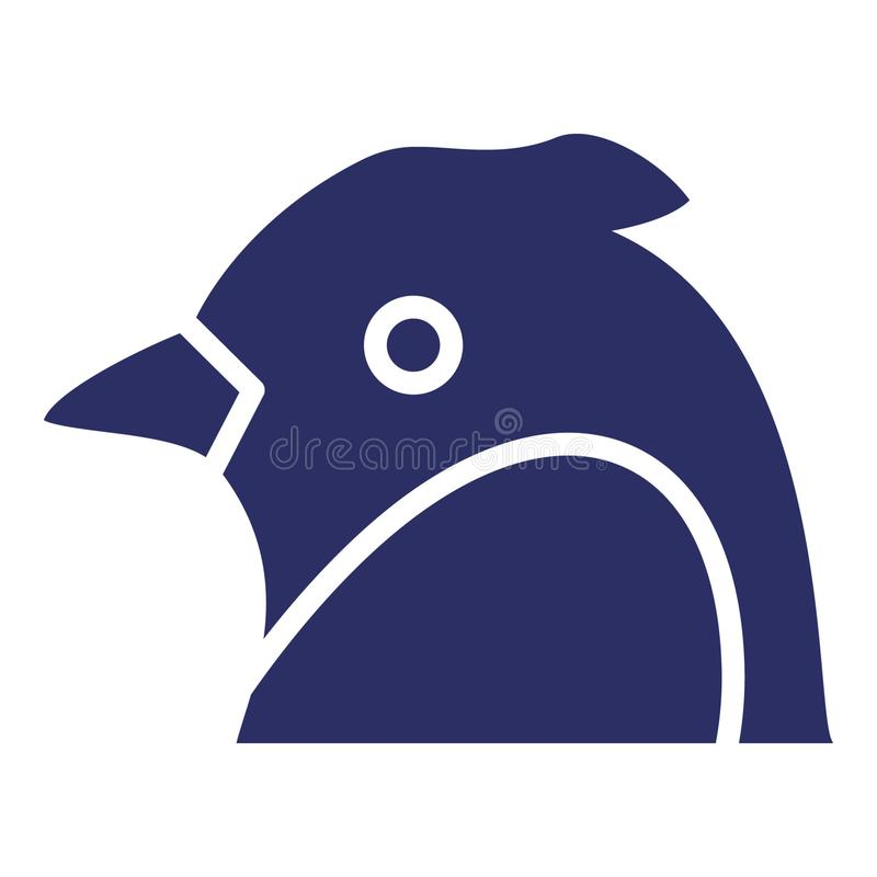 Scarlet Macaw  Isolated Vector Icon which can be easily modified or edited as you want stock illustration