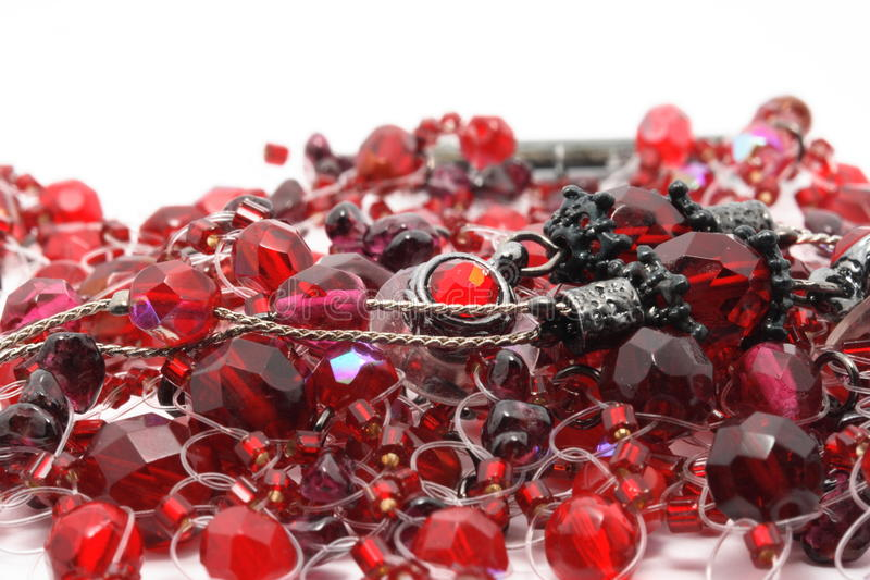 Download Scarlet precious beads stock photo. Image of colour, affection - 11528056