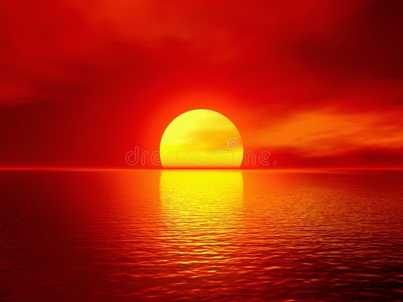 scarlet słońca