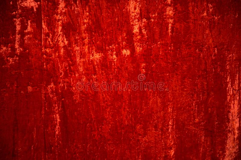 Scarlet velvet curtain background. Scarlet velvet curtain natural background stock photography