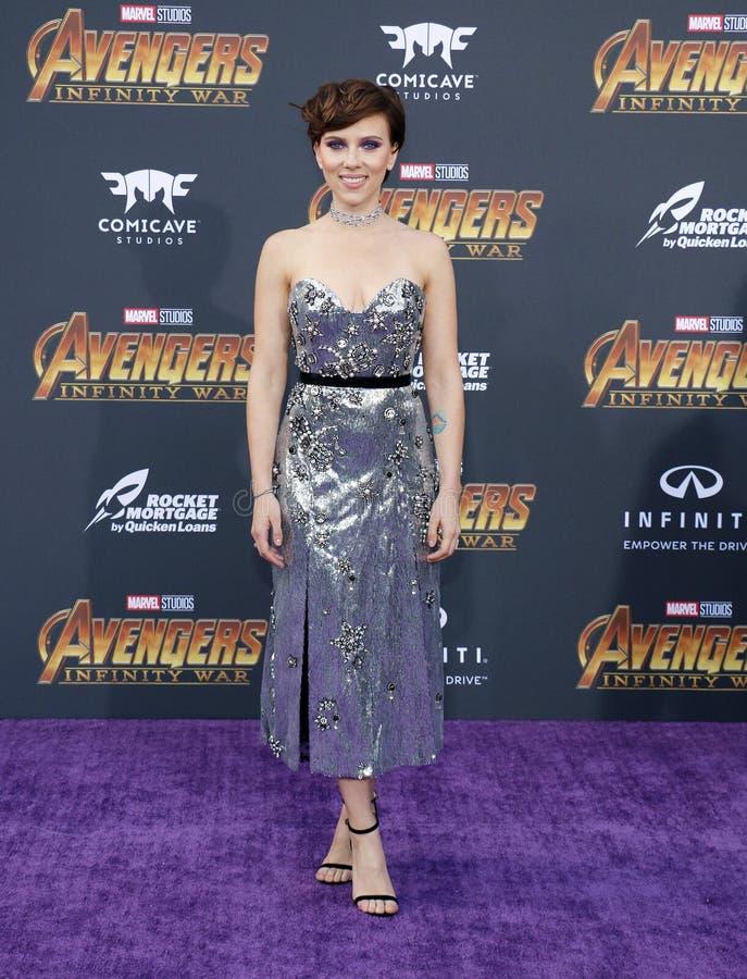 Scarlett Johansson royalty-vrije stock foto's