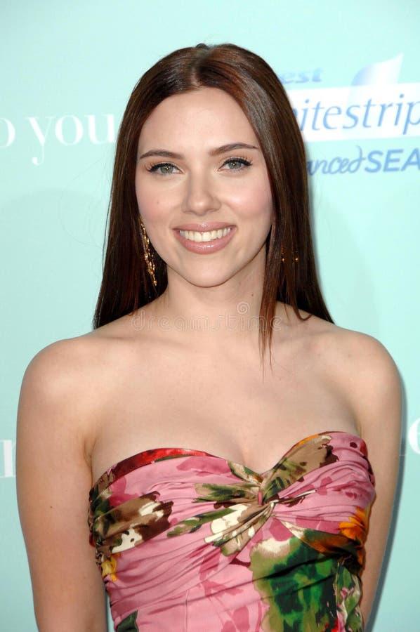 Scarlett Johansson stock image
