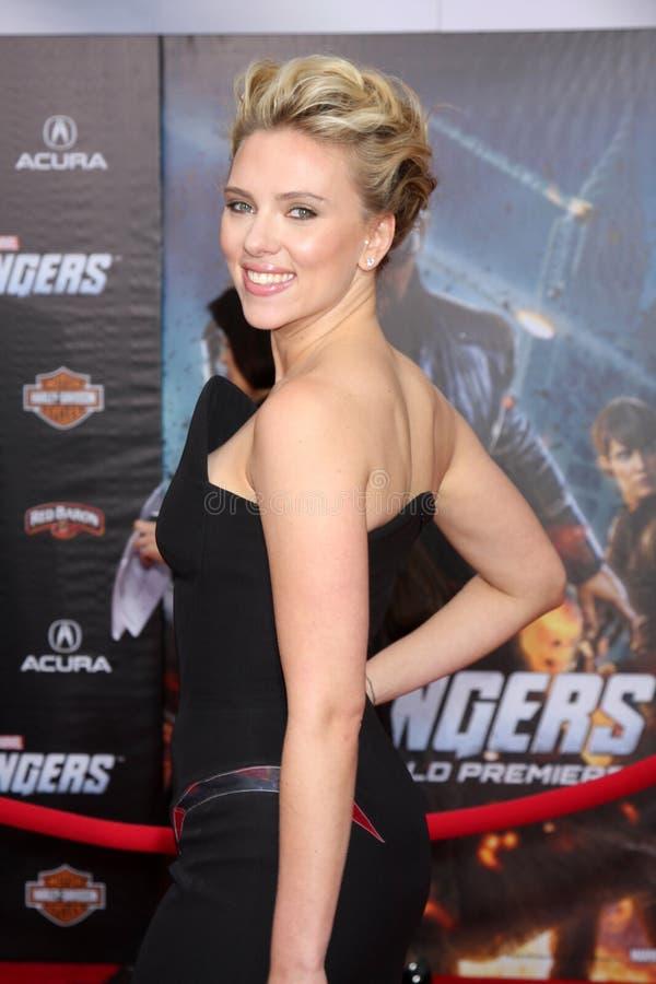 Scarlett Johansson stock afbeelding