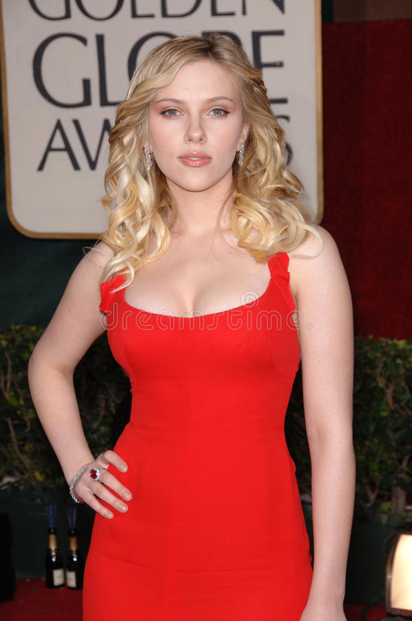Scarlett Johansson royalty free stock image