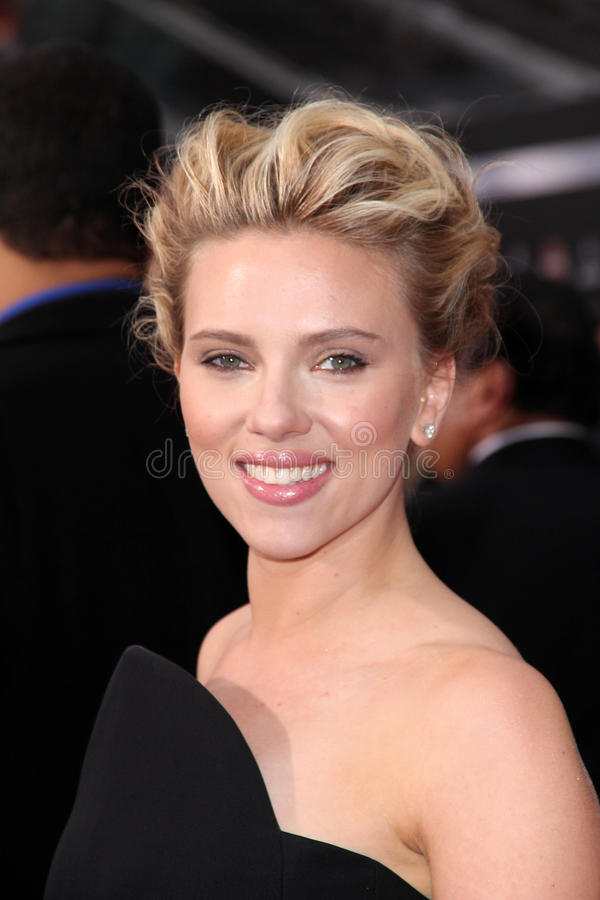 Scarlett Johansson royalty-vrije stock afbeeldingen