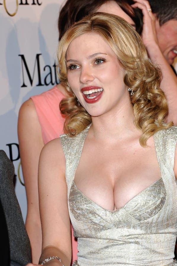 Scarlett Johansson imagem de stock