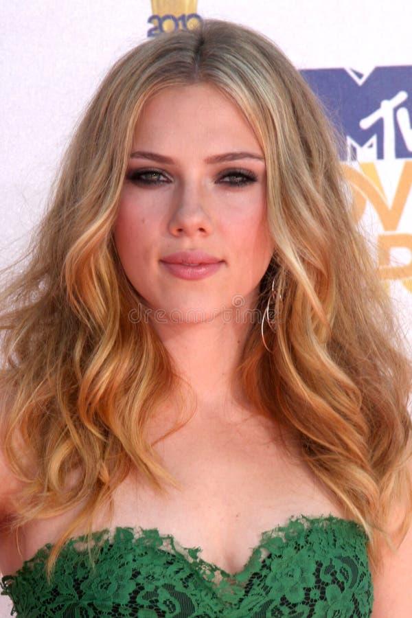 Scarlett Johansson royaltyfria foton