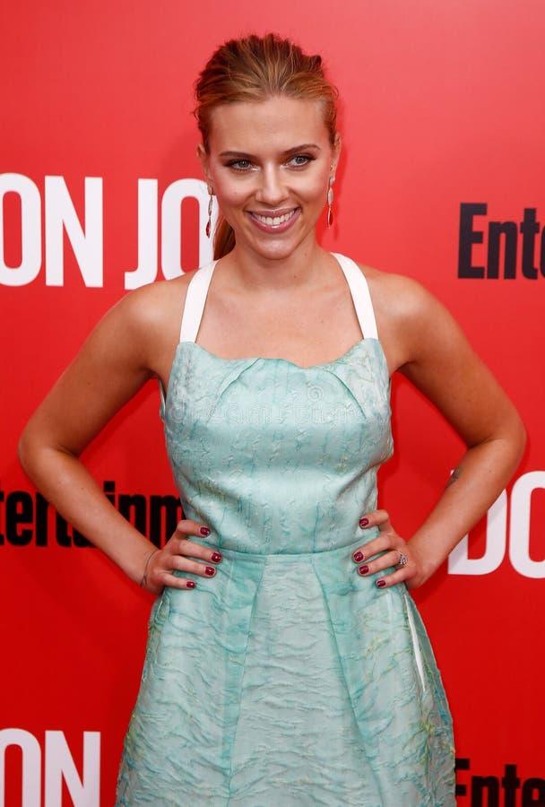 Scarlett Johansson photos libres de droits