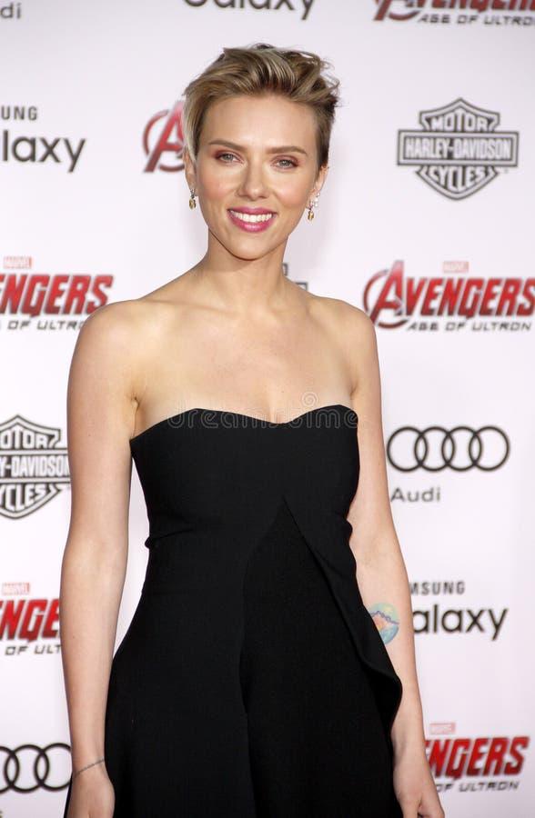 Scarlett Johansson fotografia stock